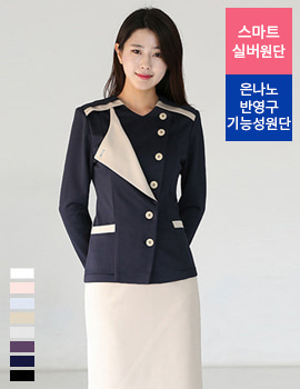 N0092 uniform/office wear top