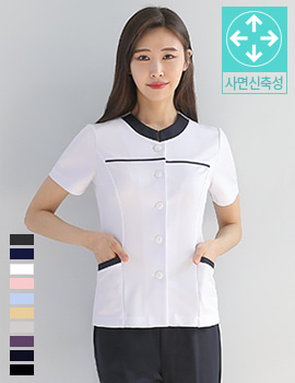 N0078 uniform/office wear top