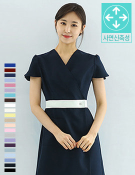 S3013 uniform/ beauty menagement gown