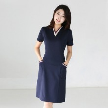 B0093 uniform/ beauty menagement gown